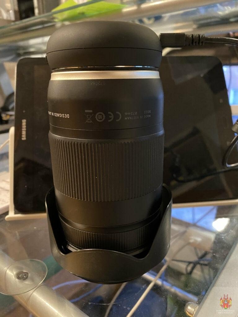 Tamron 18-400 mm F/3.5-6.3 DI-II VC HLD All-in-One Zoom für Canon APS-C Digitale Spiegelreflexkameras Tamron 18-400 mm F/3.5-6.3 DI-II VC HLD mit Tamron TAP-01E Tap-in Console für Canon schwarz Tamron TAP-01E Tap-in Console