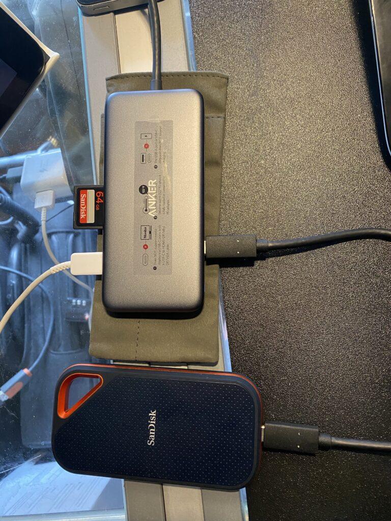 Anker USB-C-Hub, PowerExpand+ 7-in-1 USB-C-Hub-Adapter